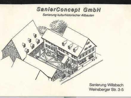Schöne, geräumige ein Zimmer Wohnung in Heilbronn (Kreis), Obersulm
