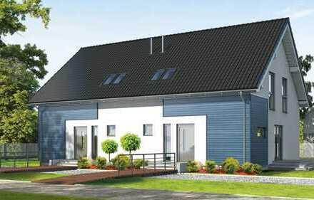 Schöne & sonnige Neubau-Doppelhaushälfte mit fünf Zimmern direkt in Lengede