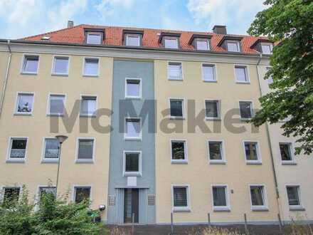 Hell, zentral und ruhig: Modernisierte 3-Zi.-Dachgeschosswohnung in Hagen-Mitte