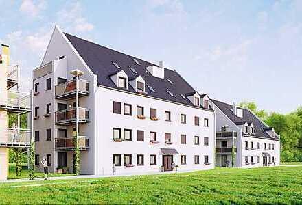 ***Helle und gut geschnittene 4-Zimmer-Wohnung mit Balkon nahe Regensburg***