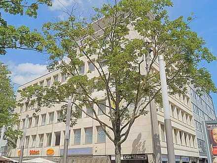 **An der Reinoldikirche-Büro im Attikageschoss mit Rundumsicht,Aufzug,Balkon, Fliesen, Sanitär neu**