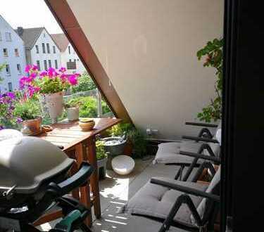 Attraktive 3-Zimmer-Maisonette-Wohnung mit Loggia in Osnabrück (Katharinenviertel)