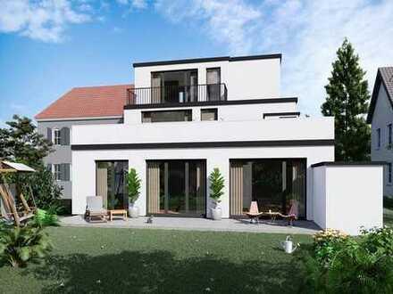 2 Zimmer Neubau mit Terrasse und Gartenanteil