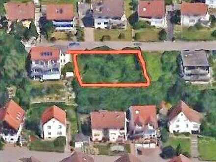 Baugrundstück (ca. 741m²) für großes EFH oder 2 DHH in exklusiver Hanglage von Heilbronn-Frankenbach