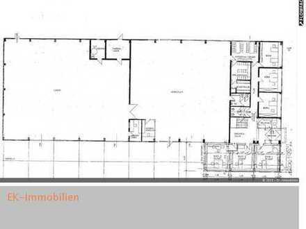 ***Halle 900 m² und Bürofläche (Bürofläche variabel) im EG direkte Hallenanfahrt***