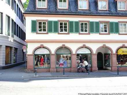Erstklassige Handelsflächen in prominenter Ecklage neben Eckerle Herrenmoden in Mainz!