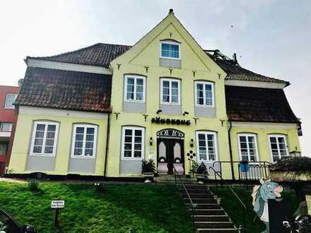 """Historisches Hotel """"Fährkrug"""" mit 14-Gästezimmern an der Oste gelegen"""