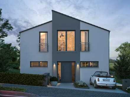 Modernes Einfamilienhaus mit Technik auf neuestem Stand