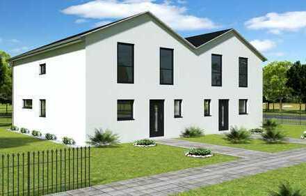 Doppelhaushälfte inkl. Doppelgarage auf großem Grundstück