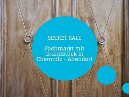 Anlage oder Entwicklung+Vielseitige Möglichkeiten!+Fachmarkt mit großem Grundstück am Kaßberg