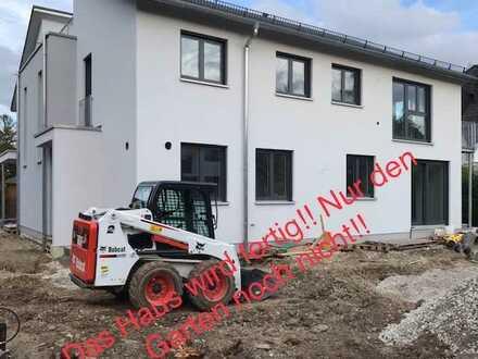 Erstbezug: 3-Zimmer-EG-Wohnung mit Terrasse und Garten in Untermenzing, München