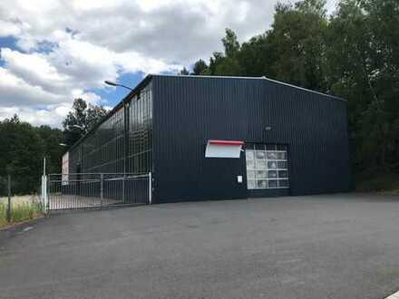 Gewerbe-/und Produktionshalle mit Bürotrakt