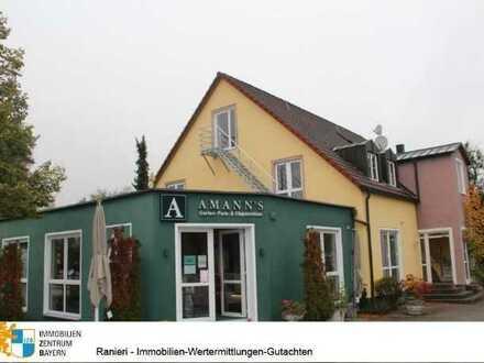 Besondere Location-Ladengeschäft in gut frequentierter Lage in Allersberg -Gewerbegebiet mit namhaft