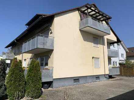 Gemütliche 3-Zimmerwohnung mit Balkon und Garage!