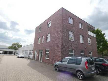 Gewerbehalle (ca. 180 m²) mit repräsentativen Büroräumen (ca. 107 m²)!