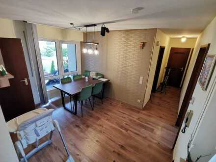 Zentral gelegene Vollständig renovierte 3,5-Zimmer-Wohnung mit Terrasse und EBK in Schwäbisch