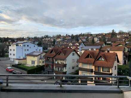 Tolle 2-Zimmer-DG-Wohnung mit Dachterrasse in Pforzheim-Eutingen - provisionsfrei