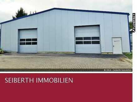 Anmietung von Hallen und Hallenteilen - Ob Lager, Produktion, Werkstatt, Hobby, Handel, u.v.m.!
