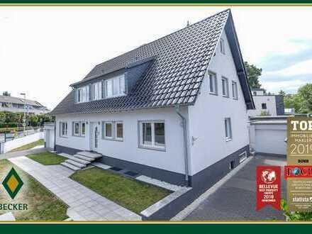 Neuwertiges, hochwertiges Einfamilienhaus mit Einliegerbereich/Büro und zwei Garagen in Holzlar