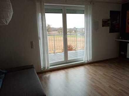 Gepflegte 1,5-Zimmer-Wohnung mit Balkon und EBK in Bretzfeld-Rappach