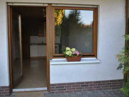 Wohlfühl-Wohnung mit Gartennutzung für Einzelperson