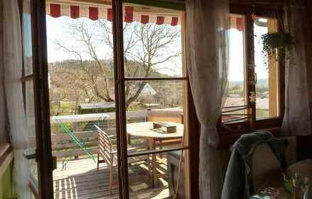Traumhafte Maisonetten Wohnung in wunderschöner Aussichtslage von Rottenburg