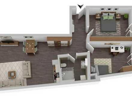 Neue 3-Zimmer-Wohnung mit Balkon im Stadtzentrum Pfaffenhofen a. d. Ilm
