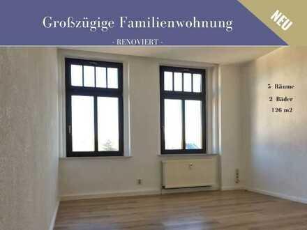 ++ Ein Wohntraum für die ganze Familie - großzügige 5-Raum-Wohnung ++
