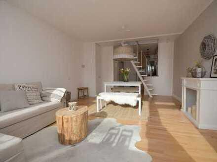 """Möblierte schicke Single-Wohnung mit """"Rundum-Sorglos-Paket"""" nahe der Bummelallee"""