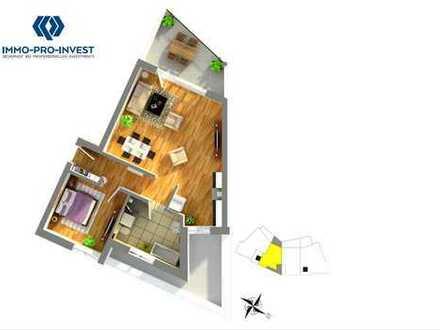 *Provisionsfrei* Penthouse, 2 Zimmer Wohnung inkl. Einbauküche und Stellplatz