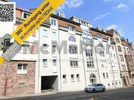 Ideal für Kapitalanleger! Sicher vermietete 1-Zimmer-Wohnung in zentraler Lage von Pforzheim!