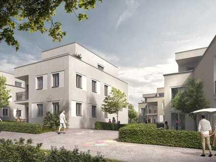 3-Zimmer-Neubauwohnung mit privatem Grün