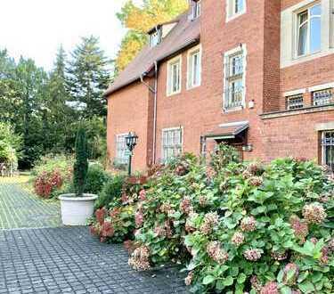 Sonnige, ruhige Villen-Wohnung mit traumhaften Ausblicken und Garten in Köln, Marienburg