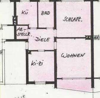 Gepflegte 3-Zimmer-Wohnung im grünen Duisburger Süden