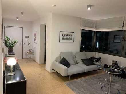Sehr gut geschnittene 2-Zimmer-Wohnung mit Balkon und Einbauküche direkt in der Innenstadt