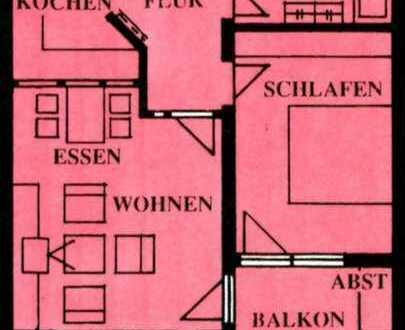 Kapitalanleger aufgepasst!Sonnige 2,5 Zimmer Wohnung in Sindelfingen-Goldberg