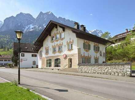 Wohnung in Wohnhaus im Ortskern von Obergrainau