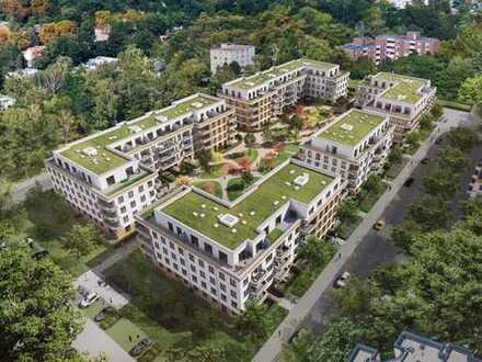 Großzügige und lichtdurchflutete Penthouse-Wohnung mit umlaufender Terrasse im begehrten Wittenau