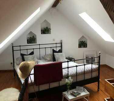 Ansprechende, sanierte 3-Zimmer-DG-Wohnung mit gehobener Innenausstattung zur Miete in Landau