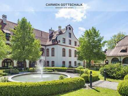 Schloss Eurasburg im Münchner Süden - Behagliche Maisonette-Wohnung