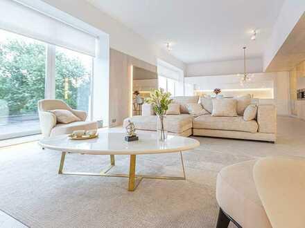 Geräumige 4-Zimmer-Wohnung mit Balkon und Panorama-Fenstern in attraktiver Halbhöhenlage