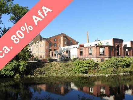 Kaufen statt Mieten + hohe Fördermittel + Denkmalschutz-AfA * Parkseite mit Schloßblick * Aufzug