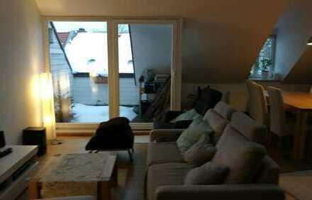 Schönes möbliertes Zimmer ca. 13qm mit eigenem Badezimmer in Oberföhring nahe Isar+E-Garten
