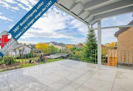 Hochwertige 3 ZKB Wohnung mit Terrasse in bevorzugter Lage von Troisdorf!