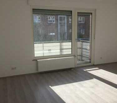 Renovierte 3-Zimmer-Wohnung in Kanalnähe mit Balkon in Münster