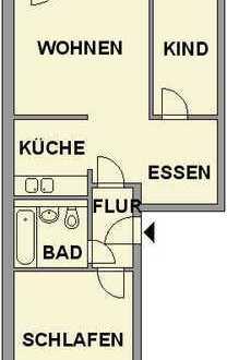 3-Raum-Wohnung mit schönem Ausblick
