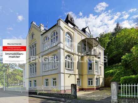 Attraktive Eigentumswohnung in historischer Villa