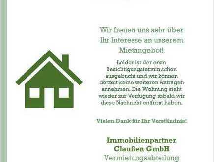 Helle 2-Zimmer Hochparterrewohnung im südlichen Teil Oldenburgs!
