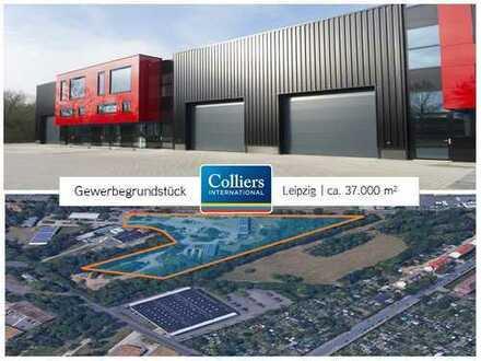 Entwicklungsgrundstück östlich von Leipzig