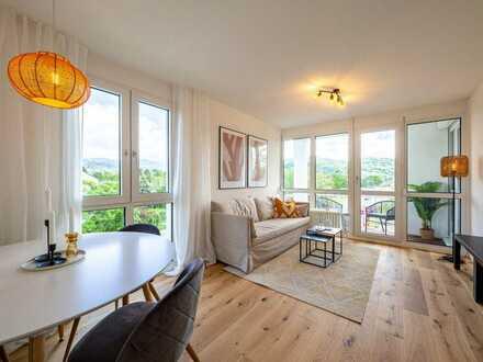 Moderne 2-Zimmer-Wohnung in Freiburg mit Ausblick auf den Schönberg **reserviert**